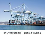 algeciras  spain   march 16 ... | Shutterstock . vector #1058546861