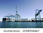 algeciras  spain   march 16 ... | Shutterstock . vector #1058546867