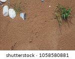 Golden Beach Sand Background...