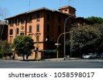 rome italy street | Shutterstock . vector #1058598017