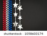 fourth of july background with... | Shutterstock . vector #1058603174