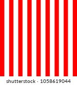 Red And White Vertical Lines...