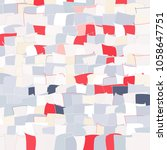 mosaic vector background.... | Shutterstock .eps vector #1058647751