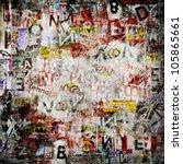 Grunge Textured Background Wit...