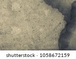 blank aged paper sheet as old... | Shutterstock . vector #1058672159