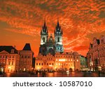 The Old Town Square In The...