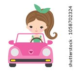 vector illustration of a young... | Shutterstock .eps vector #1058702324