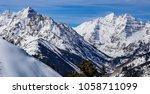 colorado rocky mountains in the ...   Shutterstock . vector #1058711099