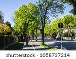 rimini  italy   apr 2017 ... | Shutterstock . vector #1058737214