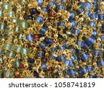 jewerly close up  many gold...   Shutterstock . vector #1058741819