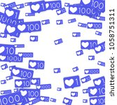 social media marketing... | Shutterstock .eps vector #1058751311