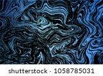 dark blue vector pattern with...   Shutterstock .eps vector #1058785031