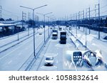 electric car or intelligent car.... | Shutterstock . vector #1058832614