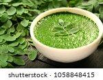 human skin nourishing herbal...   Shutterstock . vector #1058848415