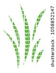 grass formed by nature. | Shutterstock . vector #1058852147