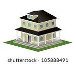 an illustration of elegent home ... | Shutterstock . vector #105888491