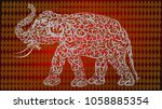 White Classic Elephant .red...