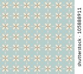 seamless vintage pattern   Shutterstock .eps vector #105888911