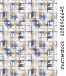 abstract grunge pattern with... | Shutterstock . vector #1058906645