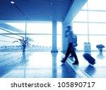 passenger in the shanghai... | Shutterstock . vector #105890717