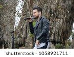 lima  peru   august 18th 2017 ... | Shutterstock . vector #1058921711