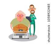cardiovascular disease...   Shutterstock .eps vector #1058922485
