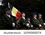 belgian army officers stand...   Shutterstock . vector #1059000074