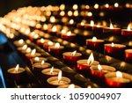 Votive Prayer Candles Inside A...