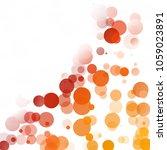bubbles circle dots unique... | Shutterstock .eps vector #1059023891