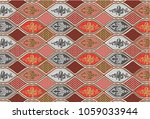 batik  indonesian  pattern ... | Shutterstock . vector #1059033944