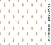 ear seamless pattern with wheat ... | Shutterstock .eps vector #1059039761