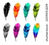 vector illustration colored...   Shutterstock .eps vector #1059051839