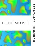 fluid colors shape. colorful...   Shutterstock .eps vector #1059075161