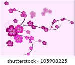 nice summer flowers | Shutterstock .eps vector #105908225
