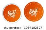 best buy stickers | Shutterstock .eps vector #1059102527