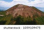 vesuvius volcano from the air | Shutterstock . vector #1059109475