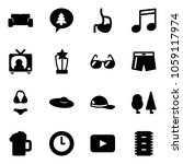 solid vector icon set   vip... | Shutterstock .eps vector #1059117974