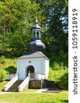 Small photo of Chapel above the Royal Well in Stara Voda (Alter Waser) .Libava. Central Moravia. Europe.