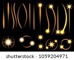 set. light indicators. laser... | Shutterstock .eps vector #1059204971