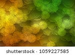 dark green  yellow vector... | Shutterstock .eps vector #1059227585