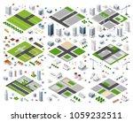 urban area of the city | Shutterstock . vector #1059232511