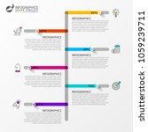 modern timeline infographic... | Shutterstock .eps vector #1059239711