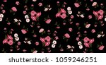 seamless floral pattern in... | Shutterstock .eps vector #1059246251