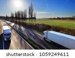 truck transportation on the... | Shutterstock . vector #1059249611