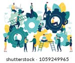business concept of vector... | Shutterstock .eps vector #1059249965