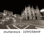 cathedral square or piazza del... | Shutterstock . vector #1059258449