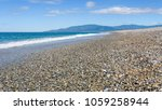 view of a gravel beach at the... | Shutterstock . vector #1059258944