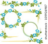 morning glory   Shutterstock .eps vector #105926987