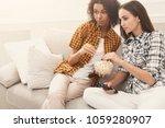 interested young women relaxing ...   Shutterstock . vector #1059280907