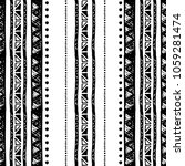 ethnic seamless pattern in... | Shutterstock .eps vector #1059281474